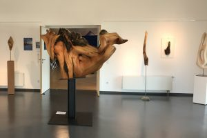Ansicht Tamina und weitere Skulpturen