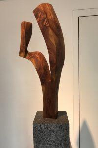 Gabel, Zwetschge 88x44x32 cm