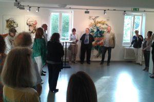 Begrüßung durch Erika Lohner