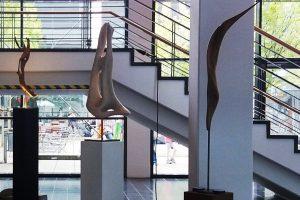 Drei Bodensee Skulpturen